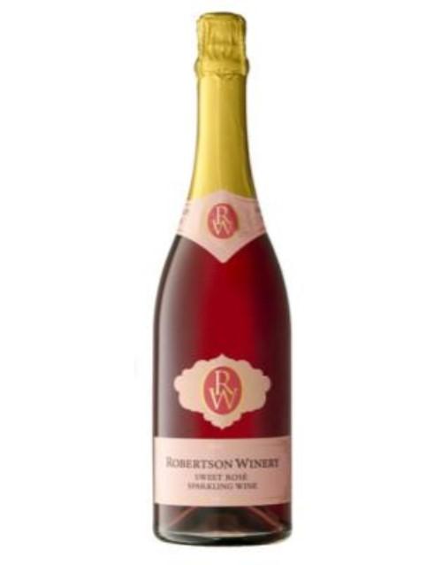 wine: Robertson Sparkling Brut Rose 750Ml!