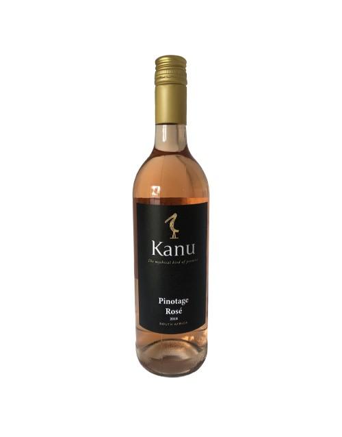 wine: KANU PINOTAGE ROSE 750ML X1!