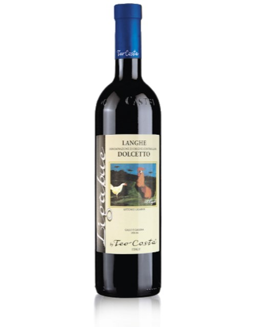 spirits: TEO COSTA DOLCETTO RED WINE 750ML X1!