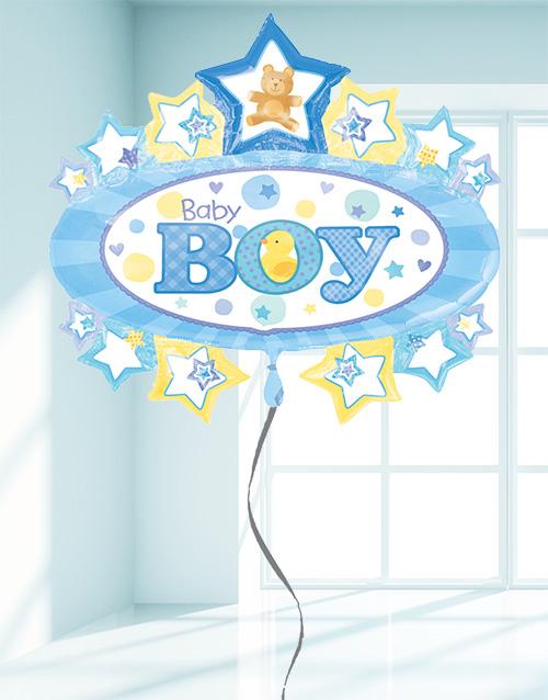 balloon: It's a Boy Balloon!