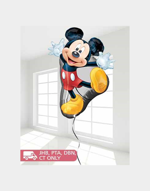 baby: Hey Mickey Balloon!