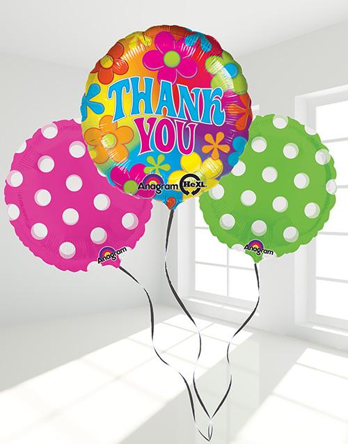 balloon: Thank you Balloon Bouquet!