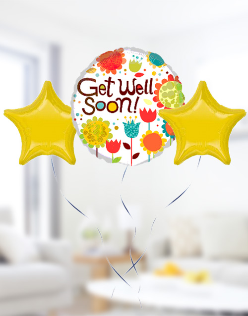 prices: Get Well Soon Balloon Bouquet!