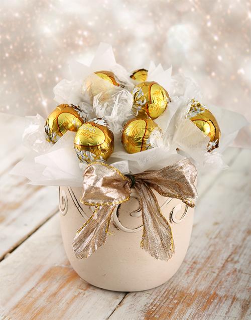 edible-chocolate-arrangements: White Christmas Edible Arrangement!