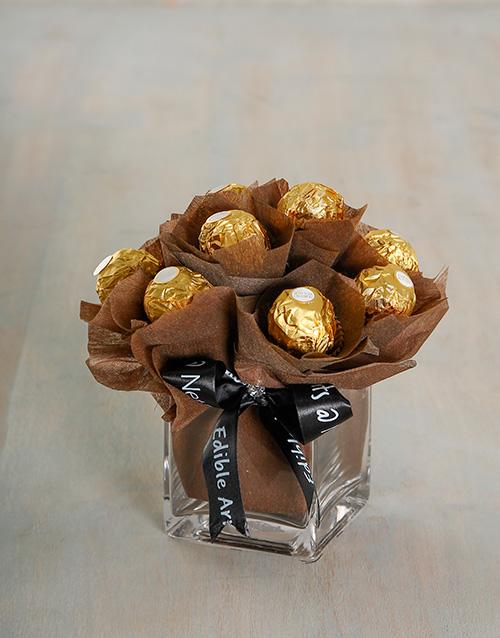 vase: Chocolaterian Arrangement!