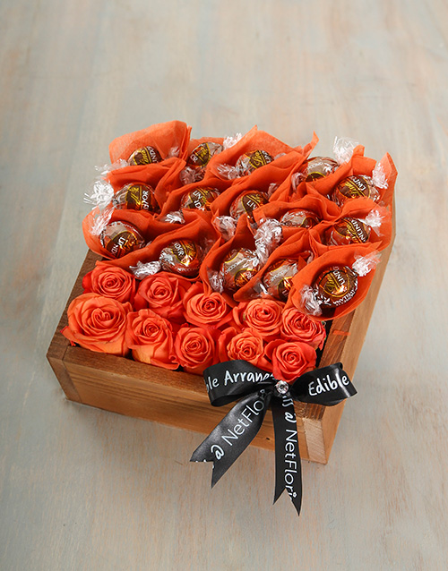 wooden-crates: Orange Cappuccino Joy Crate!