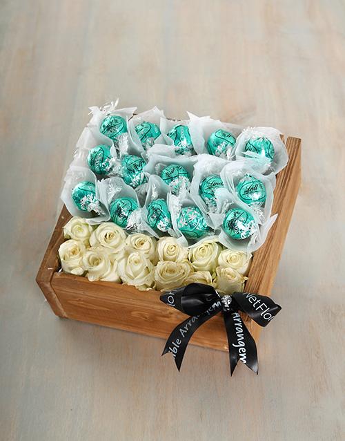 edible-chocolate-arrangements: White Coconut Joy Crate!