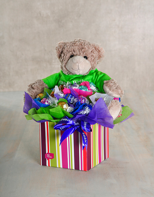 teddy-bears: Beary Delectable Edible Arrangement!
