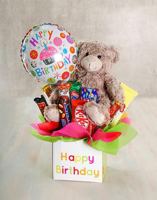 Happy Birthday Mixed Chocolate Treat