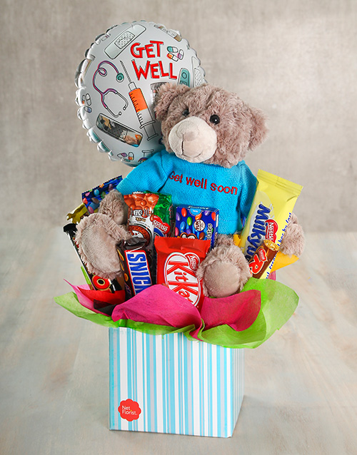 flowers: Get Well Chocolate Box!