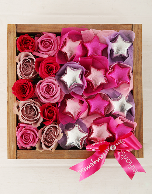 anniversary: Starry Rose Crate!