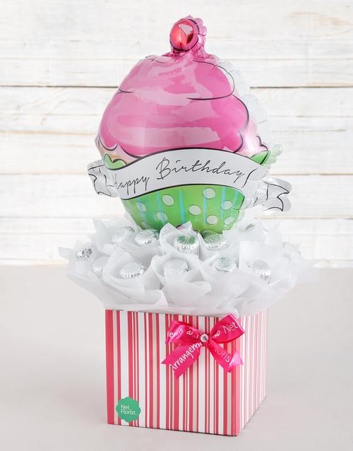 birthday: Happy Birthday Caramel Heart Arrangement!