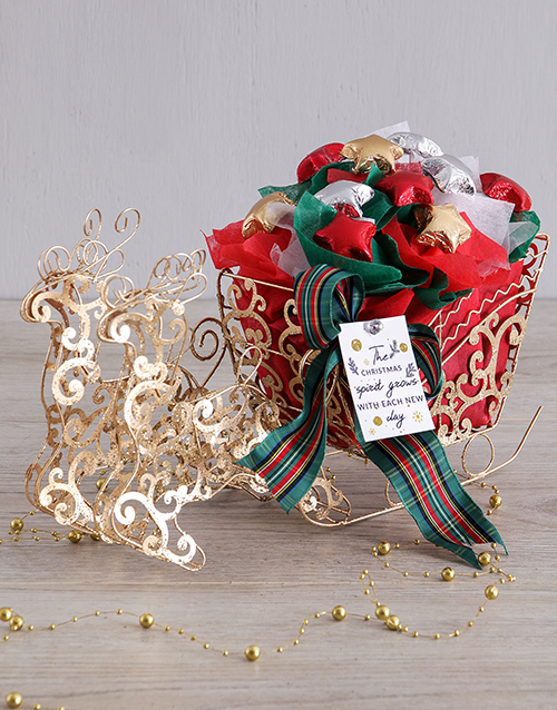 christmas: Christmas Chocolate Star Sleigh!