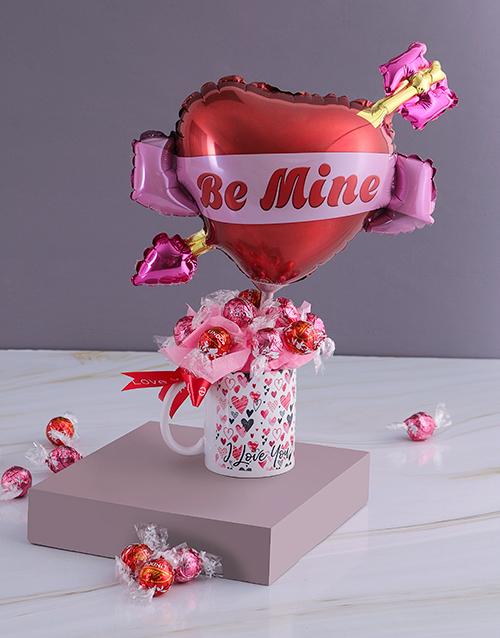 edible-chocolate-arrangements: Be Mine Chocolate Mug Edible Arrangement!