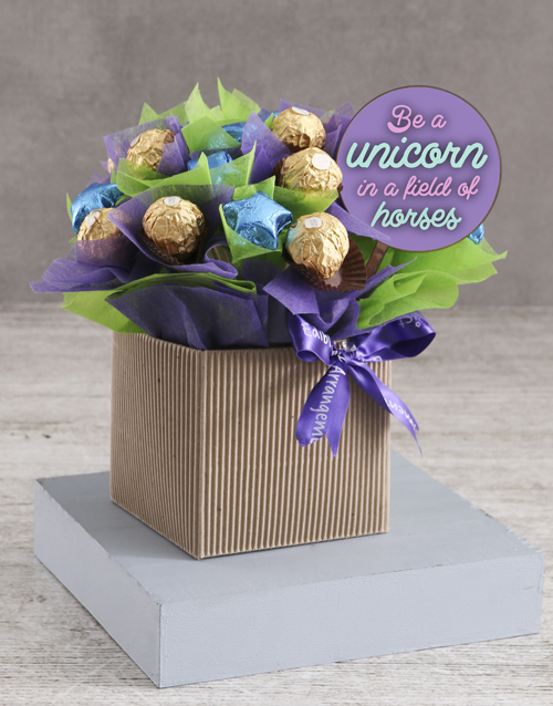 flowers: Mystical Edible Arrangement!