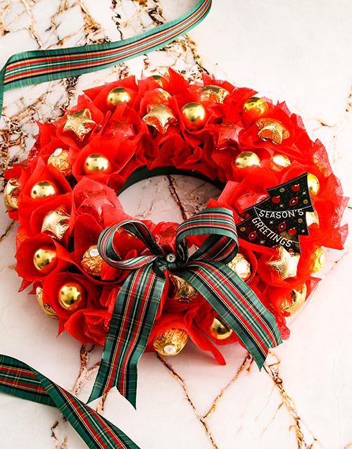 edible-arrangments: Magical Festive Wreath!