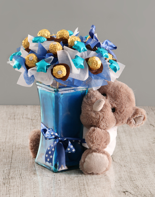 edible-chocolate-arrangements: Chocolate Rhino Bouquet!