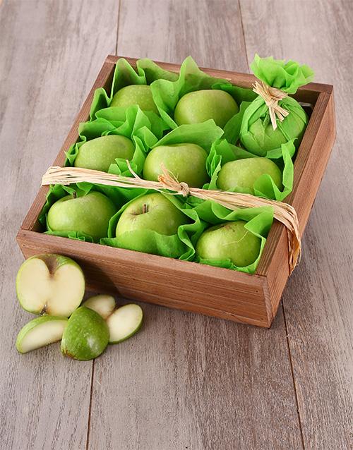 birthday: Green Apple Snack Box!