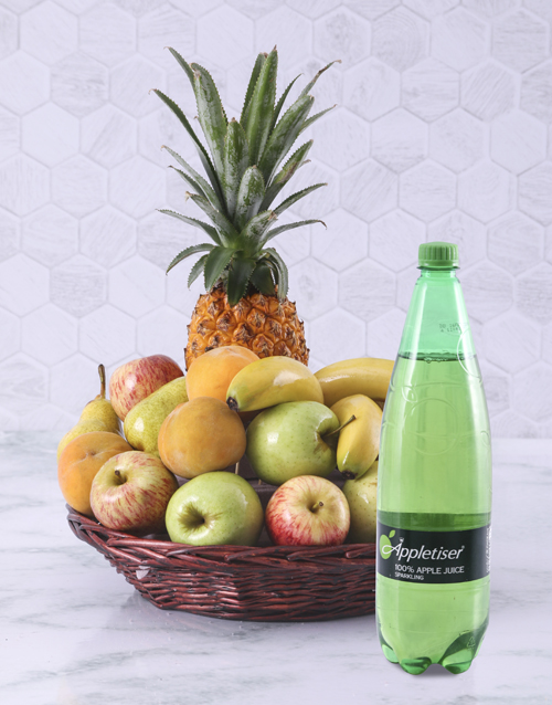 get-well: Fruity Basket with Appletizer!