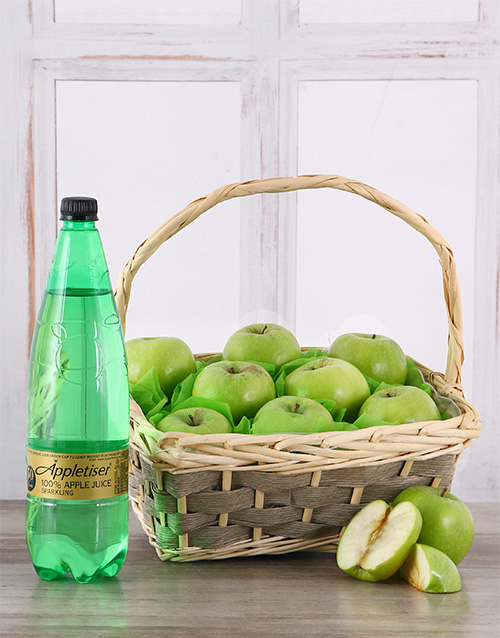 gourmet: Apple a Day Fruit Basket!