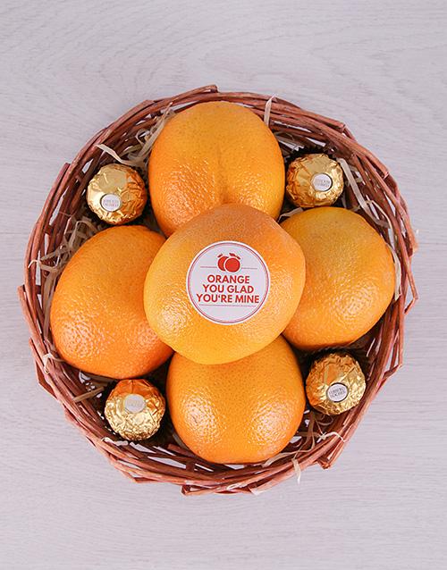 gourmet: Orange You Glad Basket!