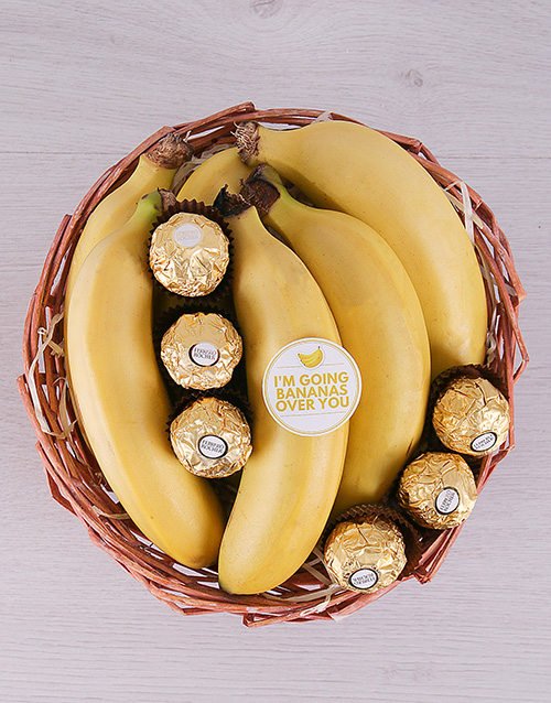 gourmet: Bananas For You Basket!