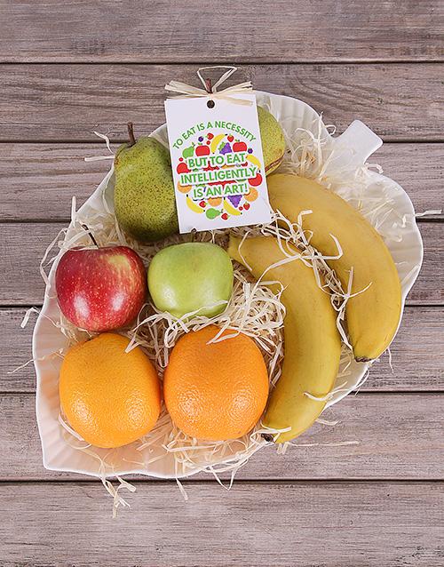 gourmet: I Leaf You Fruit Basket!
