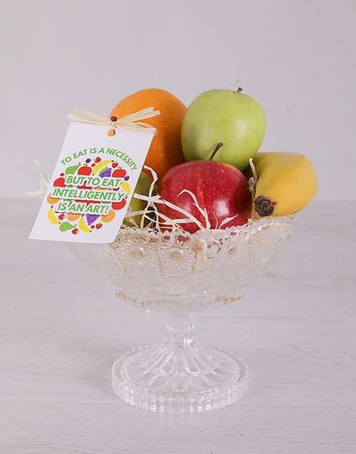 gourmet: Crisp Fruit Arrangement!