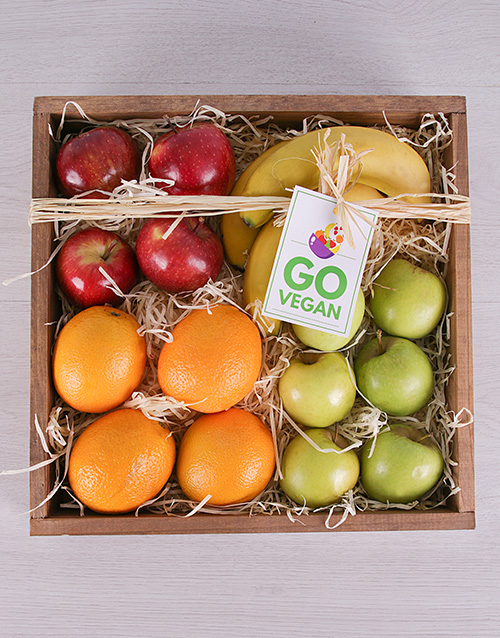 get-well: Fruit in Quarters Crate!