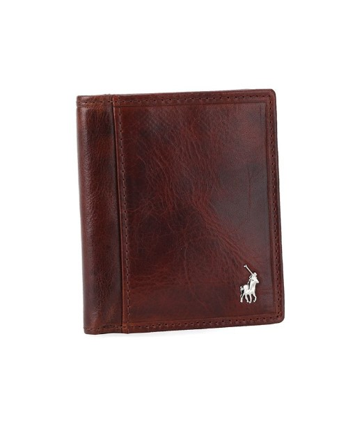 apparel: Polo Etosha Card Wallet Brown Medium!