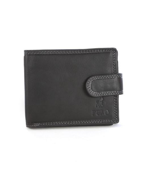 polo: Polo Tuscany Mutli Card Tab Wallet Black!