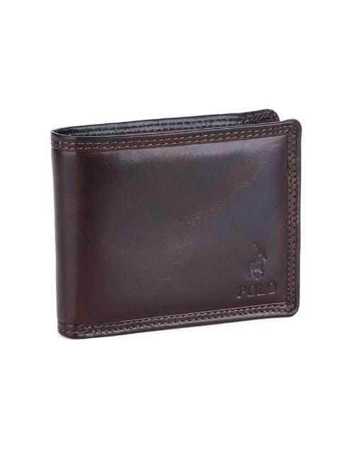 apparel: Polo Kenya Licence Wallet Brown!