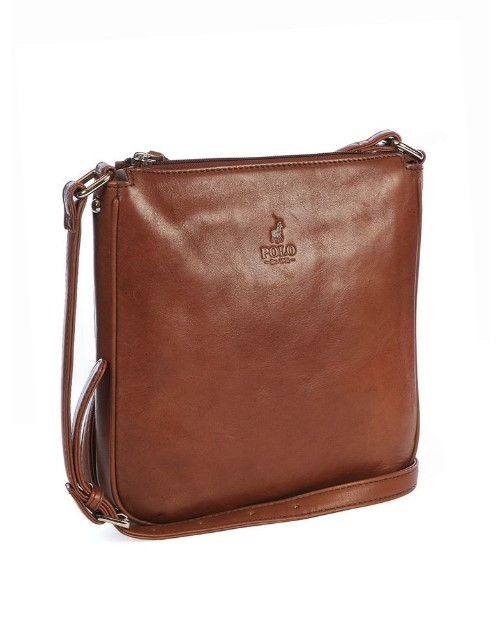 polo: Polo Colorado Crossbody Handbag Brown!