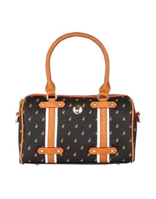 polo: Polo Heritage Dome Handbag Brown!