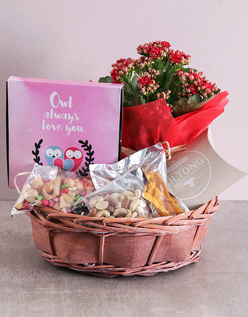 flowers: Owl Always love you Snack Basket!