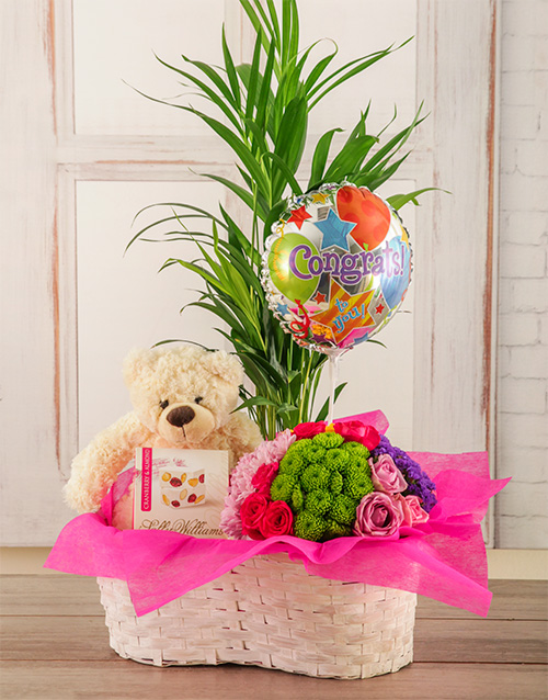 colour: Congrats Flower Basket!