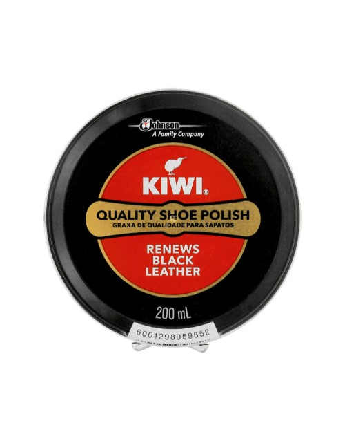 cleaning-and-detergents: KIWI BLACK SHOE POLISH 200ML!