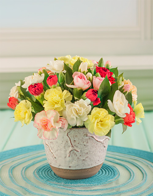 daisies: Pink and white Gerberas in a Vase!