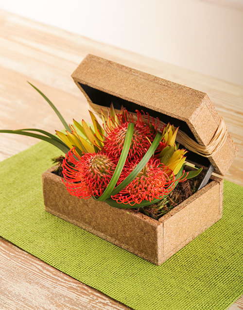 colour: Wooden Gift Box of Pincushions!