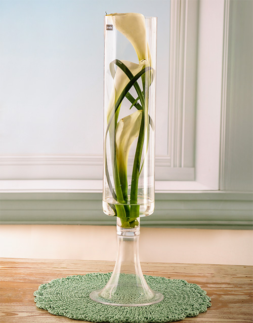 seasonal: Serene Simplicity Lily Arrangement!
