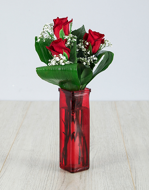 prices: You are One in a Million Red Rose Vase!