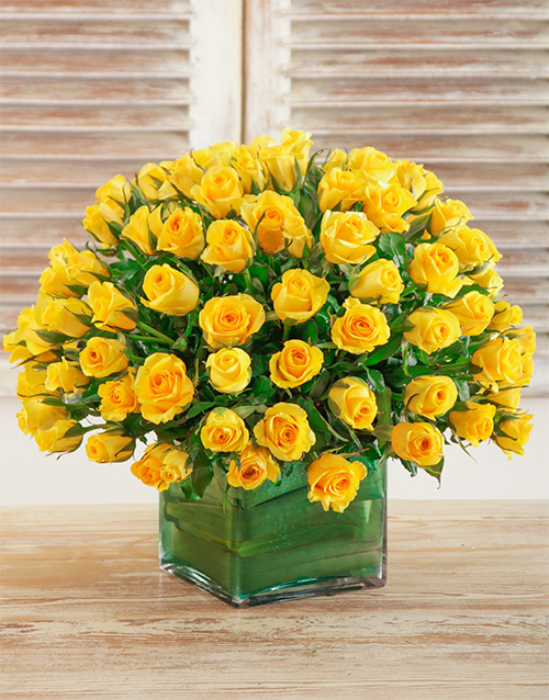 colour: Vibrant Yellow Vase!