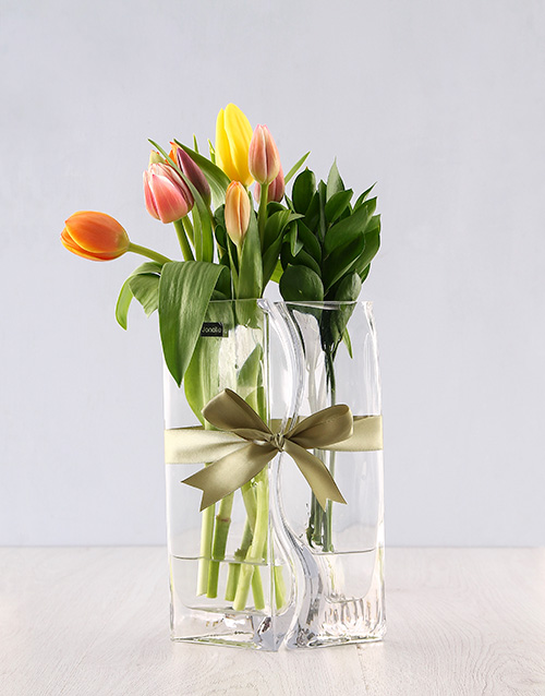 tulips: Tulips Lovers Vase!