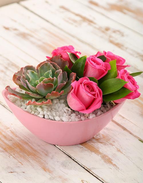 colour: Pink Supreme Arrangement!