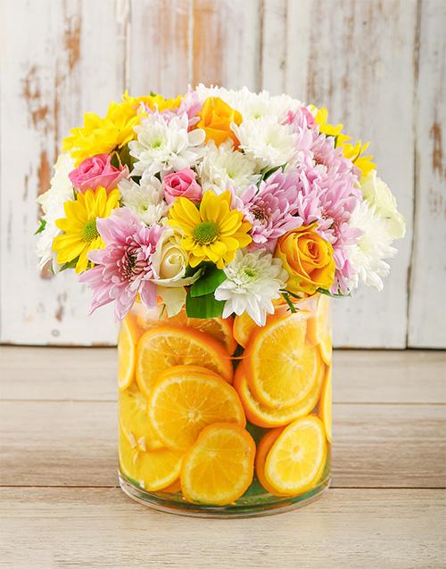 flowers: Orange Blooms!
