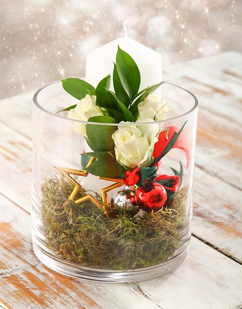 flowers: Holly Jolly Christmas Arrangement!