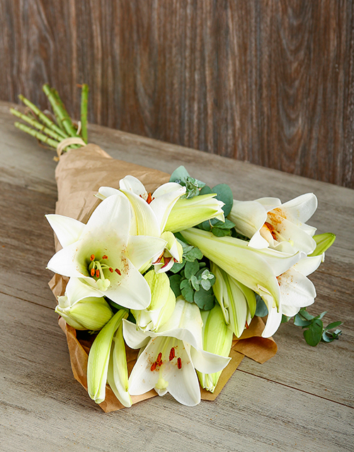 lilies: Loads of Love Lily Bouquet!