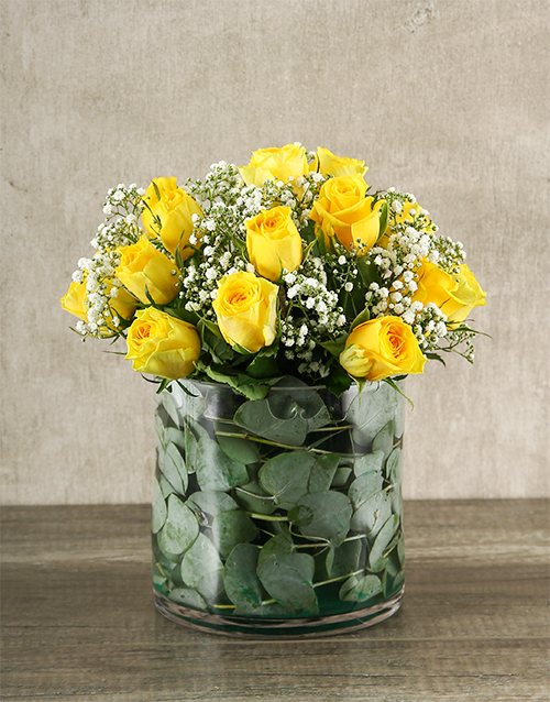 roses: Yellow Rose Delight!