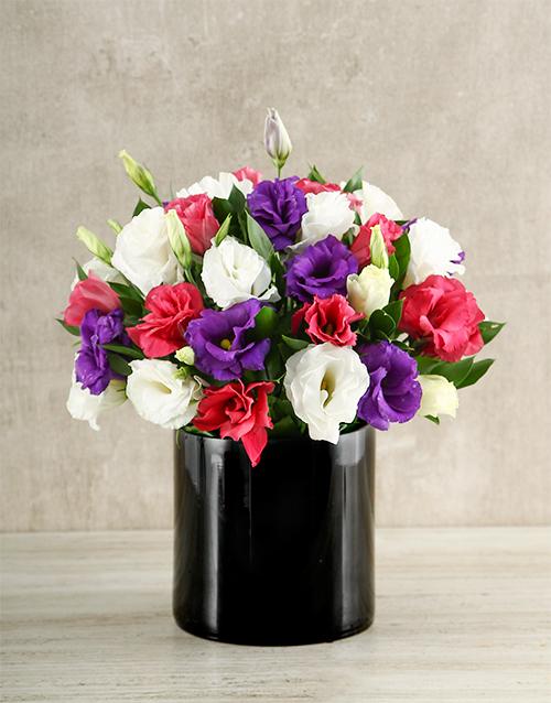 seasonal: Magic Mixed Lisianthus Vase!