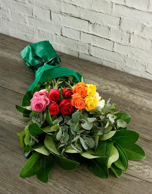 prices: Mystical Rainbow Roses in Tissue Paper!